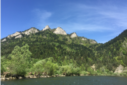 Descenso en balsa por el río Dunajec