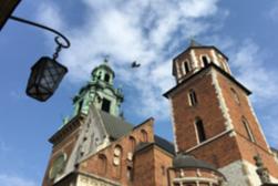 """Colina de Wawel y Ciudad Vieja de Cracovia con """"Salas de Representación"""""""