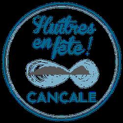 logo huîtres en fête Cancale