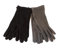 Damenhandschuh Jersey mit Fleecefutter