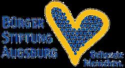 """Logo Bürgerstiftung Augsburg """"Beherzte Menschen"""" - Freiwilligen-Zentrum Augsburg"""