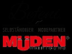 Versandreinigung-mueden, Masshemd, Logo Müden - Befeni
