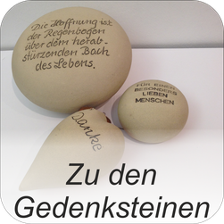 Bild: Gedenksteine