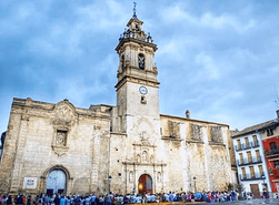 Basílica de Algemesí, Comunidad Valenciana (España).