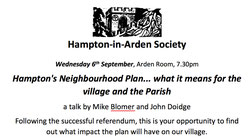 Hampton In Arden Meeting Room