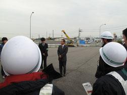京都府過積載防止対策連絡会議による啓発活動