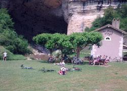Casse-croute à la grotte du Mas d'Azil