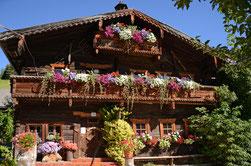 500 Jahre altes Bauernhaus, Empfang der Gäste
