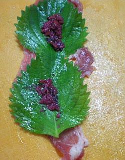 アツアツ鉄板野菜の肉巻きオサエちゃん