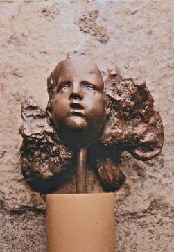 トゥロウンズのベルカント    Bronze / 21.0x8.5x13.5cm