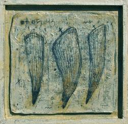 No.512 (2014)             和紙にアクリル絵具 / 31.2×32.4cm