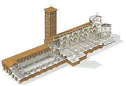 OmoGirando la Basilica di Sant'Ambrogio