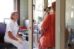 Lungenfunktion (Bodyplethysmografie) im Landesklinikum Krems