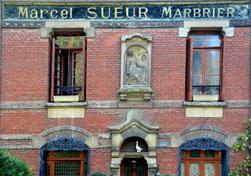 Quai Saint-Maurice- Face au cimetière de la Madeleine- Amiens
