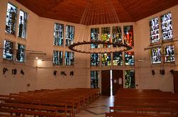 L'église de Prouville construite en 1960