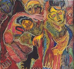 """Exposition Rosemarie Koczy """"Je vous tisse un linceuil"""""""