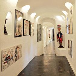 La Fabuloserie : L'entrée du musée