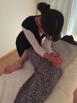 子宮インナービューティーセラピー施術の画像