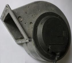 Radialventilator mit GL Motor, bürstenlos vom Wärmetauscher