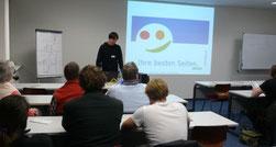 Rainer Kopitzki, mehrWEB.net - Agentur für Web-Marketing mit seinem Vortrag bei der 5. Nacht des Wissens in Hamburg