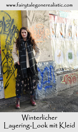 Winter Layering Look Kleid Streetstyle Berlin Fashion Week Modeblog Naehen Naehblog Fairy Tale Gone Realistic