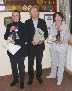 Eva Klinger, Rainer Moll, Gisela Radmacher (v. li nach re.)