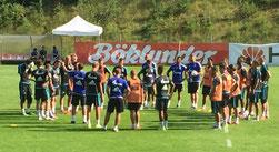 Neo-Coach Breitenreiter versammelte sein Team