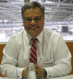 CEO Ashwin Bhat of Swiss WorldCargo announced capacity increases  -  photo: hs