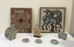Suad Sheneba, mosaici