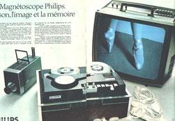 Magnétoscope à bandes Philips