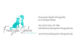 Franziska Spohn Fotografie - Hund Silhouette im Sonnenuntergang, Hundefoto, Outdoorshooting