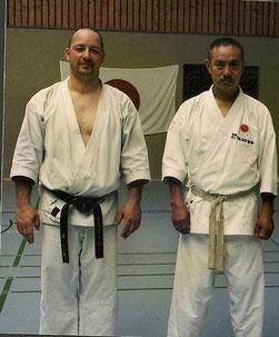 mit Tanaka Sensei 2003 in Plön