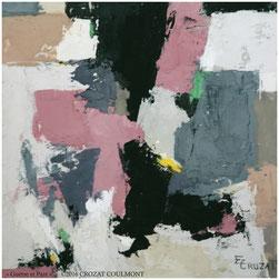Tableau d'Art Abstrait- Collection Unique- Peinture Abstraite Moderne et Contemporaine