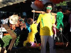 Boek braziliaans entertainment voor uw evenement