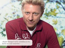 Boris Becker  joueur de tennis professionnel à la retraite utilise les produits LR Health and Beauty