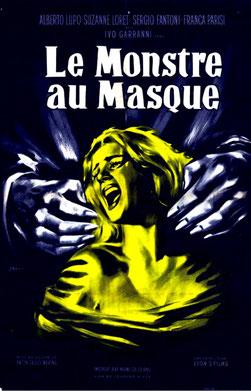 Le Monstre Au Masque de Anton Giulio Majano - 1960 / Horreur