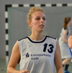 Hannah Lindemann wurde mit acht Punkten Topscorerin ihrer Mannschaft. (Foto: Moradi)