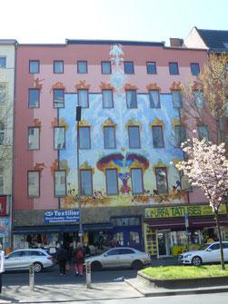Früheres Wohnhaus von Otto Nagel, Badstr. 65 © Diana Schaal