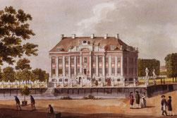 Schloss Friedrichsfelde um 1789