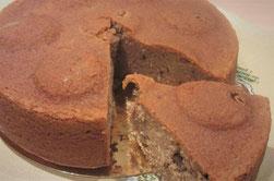 Gâteau moelleux a la farine de châtaigne