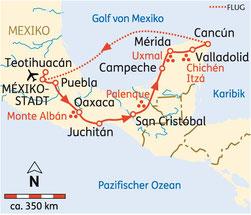 Kleingruppen-Rundreise Mexiko Ostern 2021