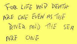 Elvis Presleys Handschrift