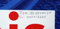 Detail mit Kontaktdaten