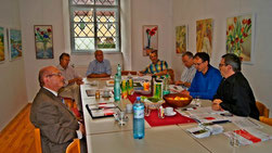 KMB Klausur Pfarreck 20.9.2014  Foto: Atzlinger