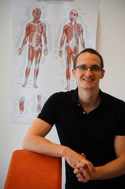 Physiotherapeut Matthias Graf in Graz