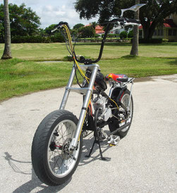 WIDE RIDE FORKS! Fat Boy style forks - PedalChopper