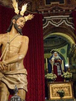 El Señor de la Sangre y su Madre, Nª. Sra. del Mayor Dolor Coronada. Patrona y Madre de Aracena.
