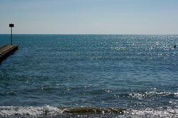 19 Ozean mit Reflexionen/Ocean with reflections