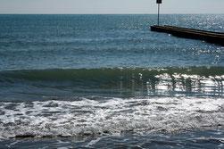 17 Ozean mit Reflexionen/Ocean with reflections
