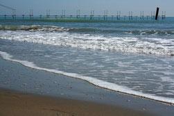 16 Ozean mit Pier/Ocean with a pier